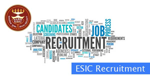 ESIC Recruitment Apply Online at www.esic.nic.in