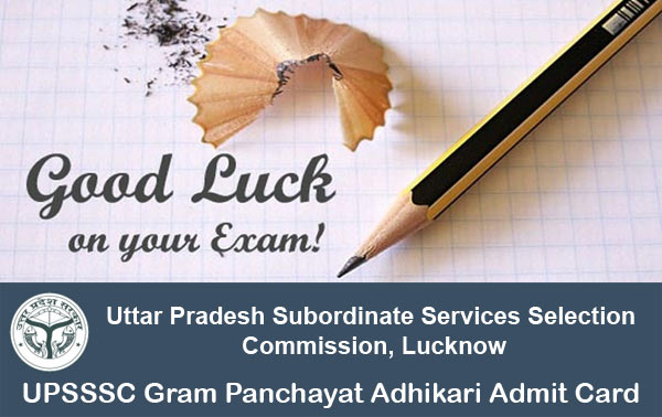 UP Gram Panchayat Adhikari Interview Call Letter Available at upsssc.gov.in