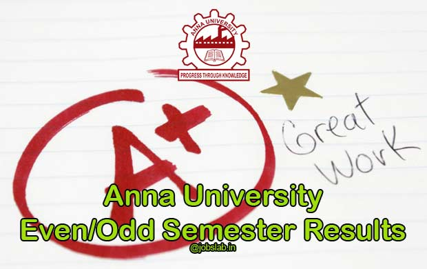 Anna University Results declared for UG PG Exam