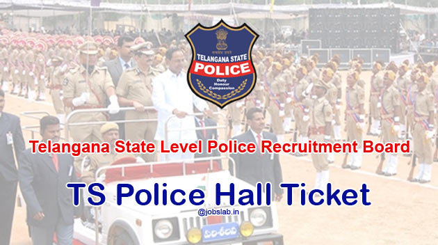 TSLPRB Hall Ticket 2016 Download TS Police Constable Hall Ticket 2016