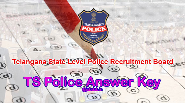 TS Police Answer Key 2016 TSLPRB SI Constable PWT Answer Key Available