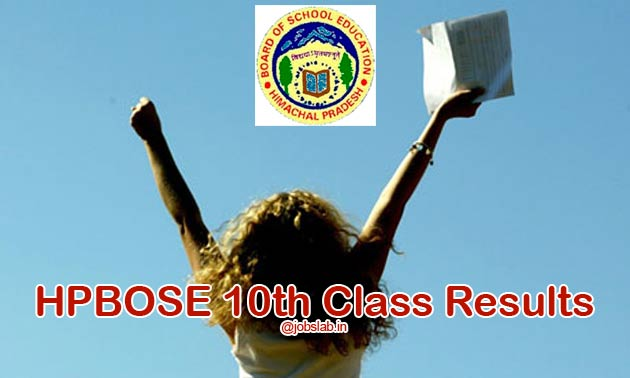 HPBOSE 10th Result 2017 Available - Check HP Board 10th Result 2017
