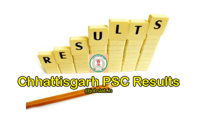 CGPSC Results 2016 for SSE Main Exam Available
