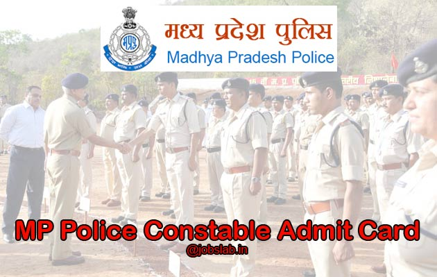 MP Police Constable Admit Card 2016 Available - Download Now