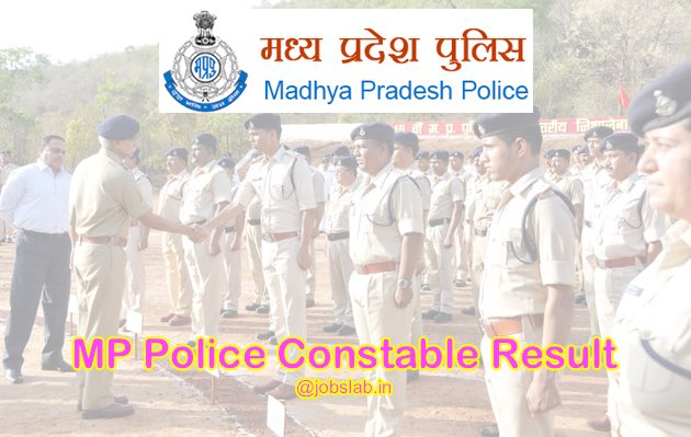 MP Police Constable Result 2016 for 14283 PCRT 2016 Available
