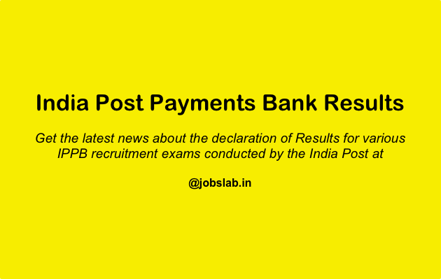 India Post Payments Bank Result Check IPPB Result, Merit List, and Cut Off Here